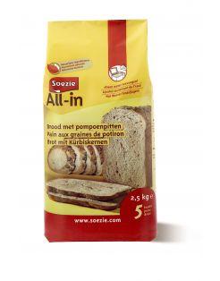 Soezie All-In Brood Pompoenpitten - Bakproducten - 2.5 kg