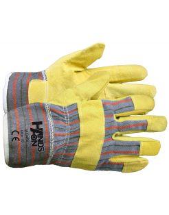 Kixx Handschoen Varkenssplit - Handschoenen - 12x15x27 cm Geel 10