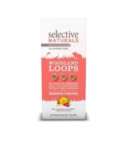 Supreme Selective Naturals Woodland Loops - Knaagdiersnack - 80 g