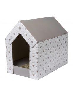 Adori Kattenhuis Met Krab-Bed - Krabpaal - 40x25x36 cm