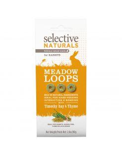Supreme Selective Naturals Meadow Loops - Knaagdiersnack - 80 g