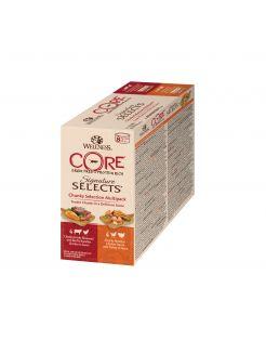 Wellness Core Signature Selects Chunky Multi-Pack - Kattenvoer - Mix 8x79 g