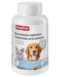 Beaphar Glucosamine Tabletten - Voedingssupplement - Gewrichten - Spieren - 60 stuks
