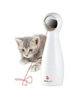 Frolicat Automatic Laser Light Bolt - Kattenspeelgoed - Wit per stuk