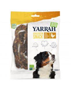 Yarrah Bio Kippennekken - Hondensnacks - Kip 150 g