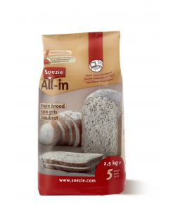 Soezie All-In Bruin Brood - Bakproducten - 2.5 kg