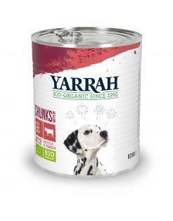 Yarrah Bio Blik Brokjes In Saus - Hondenvoer - Rund 820 g