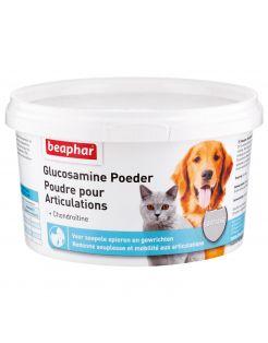 Beaphar Glucosamine Poeder - Voedingssupplement - Gewrichten - Spieren - 300 g