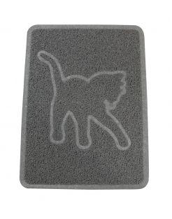 Adori Kattenbakmat - Kattenbakaccessoires - 35.5x48 cm Donkergrijs