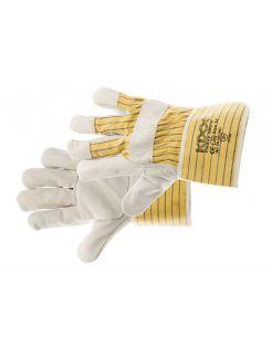 Kixx Tuinhandschoen Heavy - Handschoenen - 30x13x2 cm Geel Grijs 10