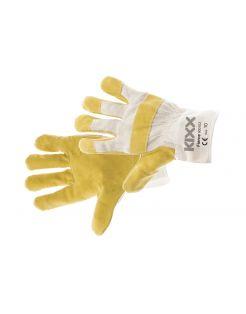 Kixx Tuinhandschoen Fierce - Handschoenen - 29x13x2 cm Geel Grijs 10