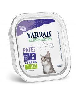 Yarrah Bio Kat Alu Pate Kip - Kattenvoer - 100 g
