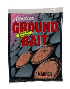 Albatros Groundbait Karper - Lokvoer - 1 kg Oranje Allround