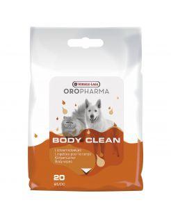 Versele-Laga Oropharma Body Clean Cat & Dog Doekjes - Vachtverzorging - 20 stuks