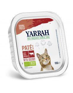 Yarrah Bio Kat Alu Pate Rund - Kattenvoer - 100 g