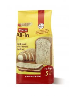 Soezie All-In Maïsbrood - Bakproducten - 2.5 kg