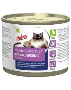 Prins Naturecare Diet Cat Hypoallergenic - Kattenvoer - Zalm 175 g
