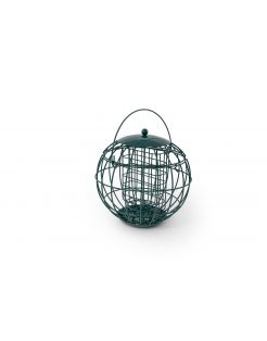 Wildbird Vetblokhouder London - Voersilo - 22x22x21 cm Groen