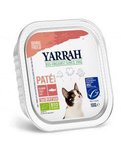 Yarrah Bio Kat Alu Pate Zalm - Kattenvoer - 100 g