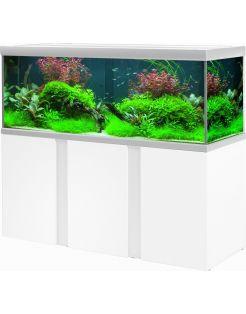 Akvastabil Fusion Aquarium 160 - Aquaria - 160x60x64 cm Zilver Wit Ca. 579 L