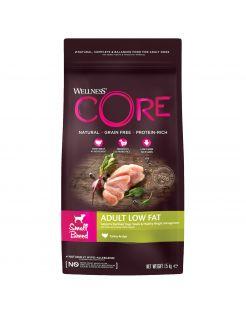 Wellness Core Grain Free Dog Healthy Weight Small Breed - Hondenvoer - Kalkoen 1.5 kg
