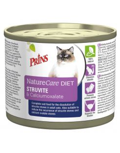 Prins Naturecare Diet Cat Struvite - Kattenvoer - 200 g