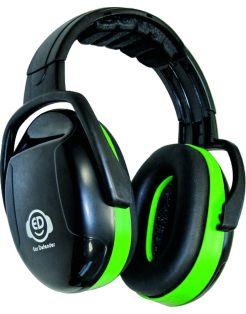 Ear Defender Gehoorkap 26db - Gehoorbeschermers - Zwart Groen