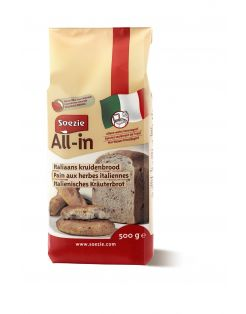 Soezie All-In Italiaans Kruidenbrood - Bakproducten - 500 g