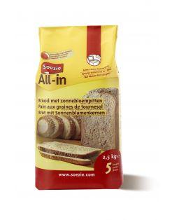 Soezie All-In Brood Zonnebloempitten - Bakproducten - 2.5 kg