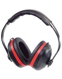 Safeworker Gehoorkap - Gehoorbeschermers - Zwart Rood