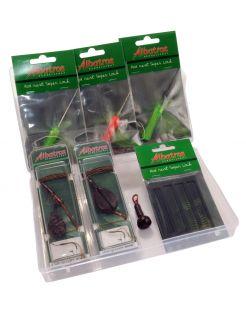 Albatros Ready2fish Carpbox - Visgereedschap - Zwart Groen per set Karper
