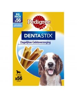 Pedigree Dentastix Multi-Pack - Hondensnacks - Dental 56 stuks Medium