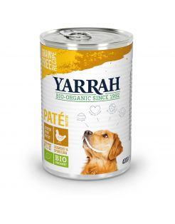 Yarrah Bio Alu Pate Graanvrij - Hondenvoer - Kip Zeewier 400 g