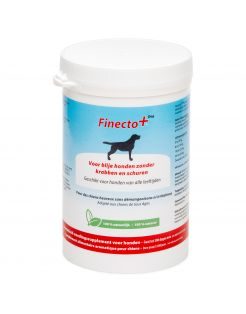 Finecto+ Dog - Voedingssupplement - parasieten - 300 g