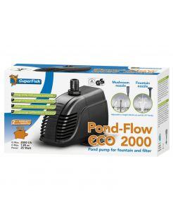 Superfish Pond Flow Eco - Pompen - 2000 l/h 2000