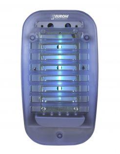Eurom Fly Away Vliegenlamp Plug-In - Insectenbestrijding - Blauw Wit Electrisch