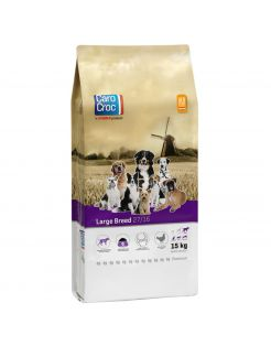 Carocroc Large Breed - Hondenvoer - Vlees Granen Gevogelte 15 kg