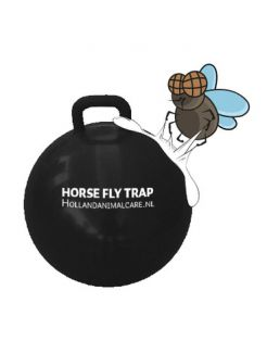 Horse Fly Trap Ball - Anti insect - 45 cm Zwart