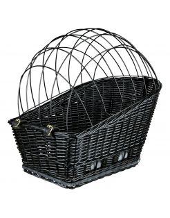 Trixie Fietsmand Voor Bagagedrager - Hondenfietsaccessoires - 35x49x55 cm Zwart