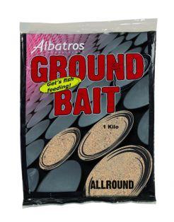 Albatros Groundbait All Round - Lokvoer - 1 kg Beige Allround
