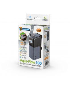 Superfish Aquaflow 100 Dual Action Filter - Binnenfilters - 11x6.5x23 cm Zwart 50-200 l/h