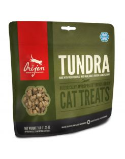 Orijen Freeze-Dried Treats Cat Tundra - Kattensnack - Zwijn 35 g