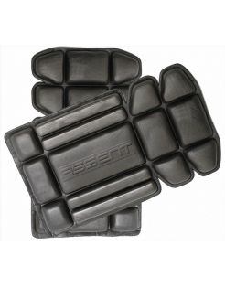 Assent Kniebeschermers - Kniestukken - 25x15 cm Zwart per paar Flexibel