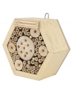 Natuurmonumenten Insectenhuis Zeshoek - Nestkast - 8x16x16 cm Small