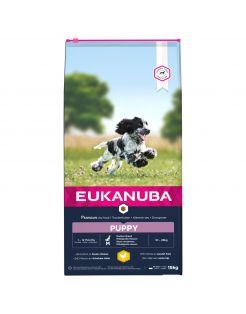 Eukanuba Growing Puppy Medium Breed - Hondenvoer - Kip 15 kg