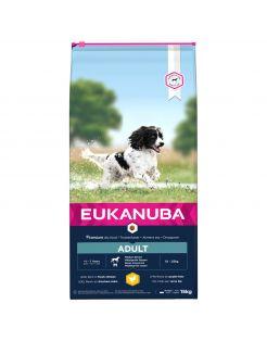 Eukanuba Active Adult Medium Breed - Hondenvoer - Kip 15 kg