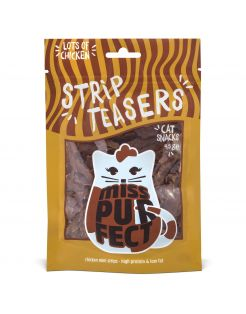 Miss Purfect Strip Teasers - Kattensnack - 45 g