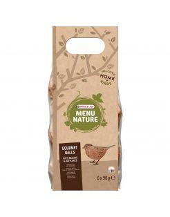 Versele-Laga Menu Nature Mezenbol Gourmet Rozijn &Haver - Voer - 540 g