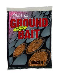 Albatros Groundbait Brasem - Lokvoer - 1 kg Beige Allround