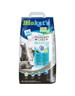 Biokat's Diamond Care Multicat - Kattenbakvulling - 8 l